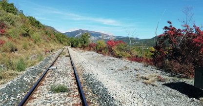Travaux ligne train